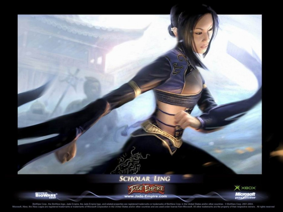 jade empire trailer: