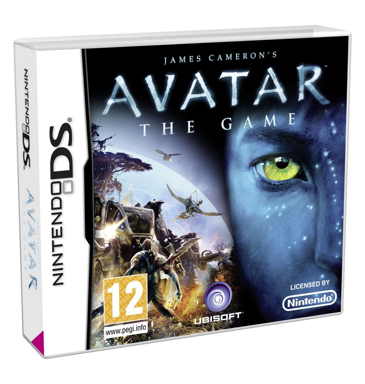 Jaquettes James Cameron's Avatar : The Game
