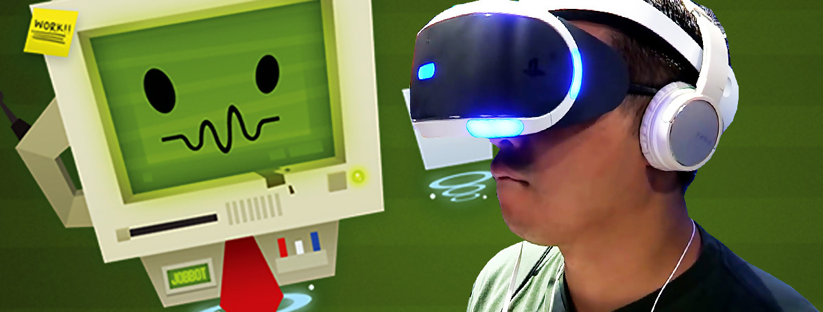 Test Job Simulator sur PS4 PlayStation VR