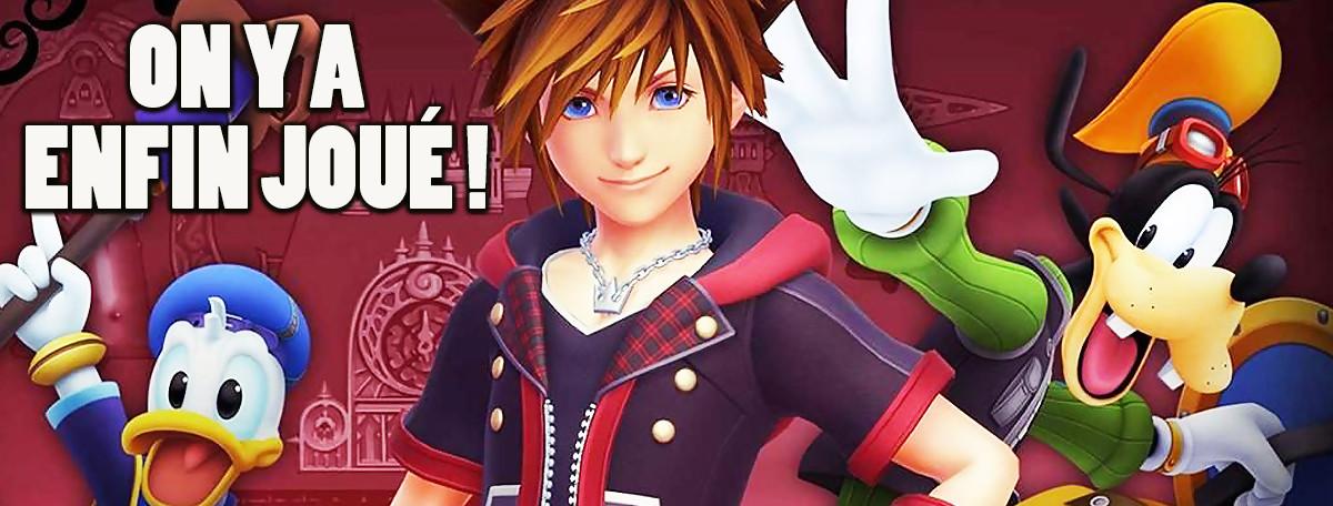 Kingdom Hearts 3 : on y a joué, la magie toujours au rendez-vous ?