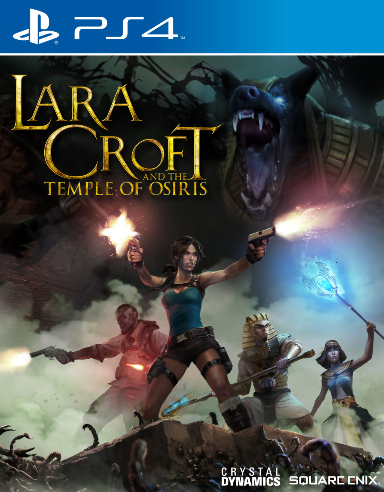 lara croft and the temple of osiris gameplay trailer sur ps4. Black Bedroom Furniture Sets. Home Design Ideas
