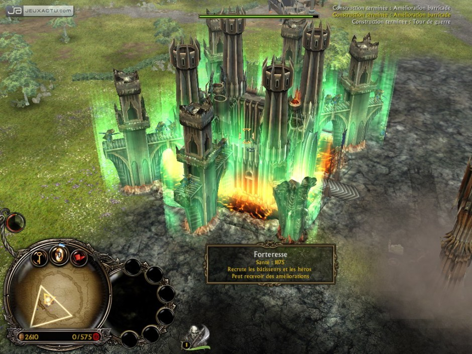 test lotr middle earth ii sur pc. Black Bedroom Furniture Sets. Home Design Ideas