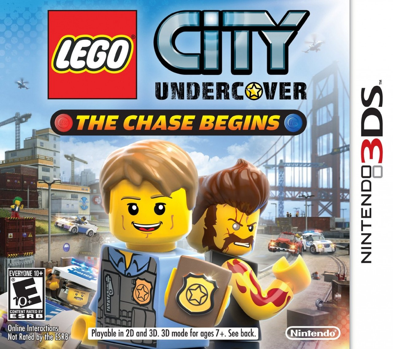 jaquettes lego city undercover the chase begins. Black Bedroom Furniture Sets. Home Design Ideas