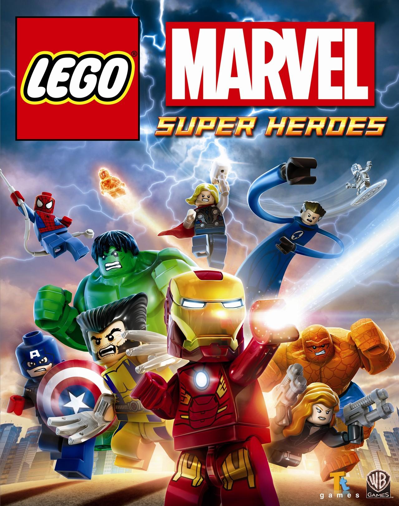 test lego marvel super heroes sur ps4 sur ps vita. Black Bedroom Furniture Sets. Home Design Ideas