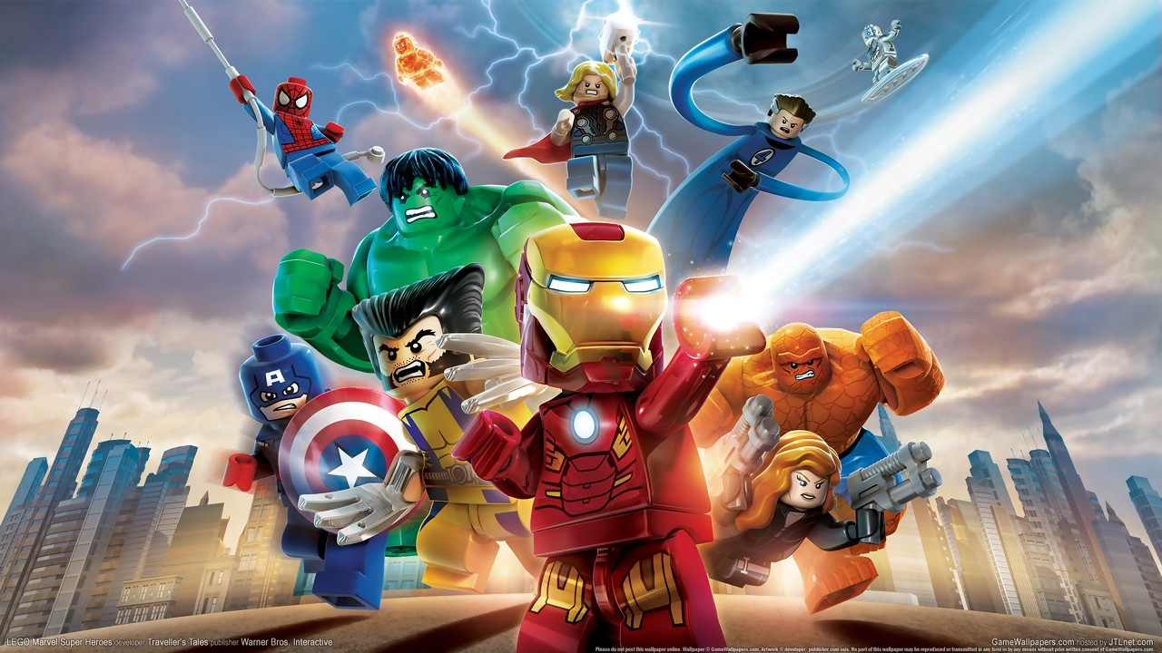 Toutes les images du jeu lego marvel super heroes