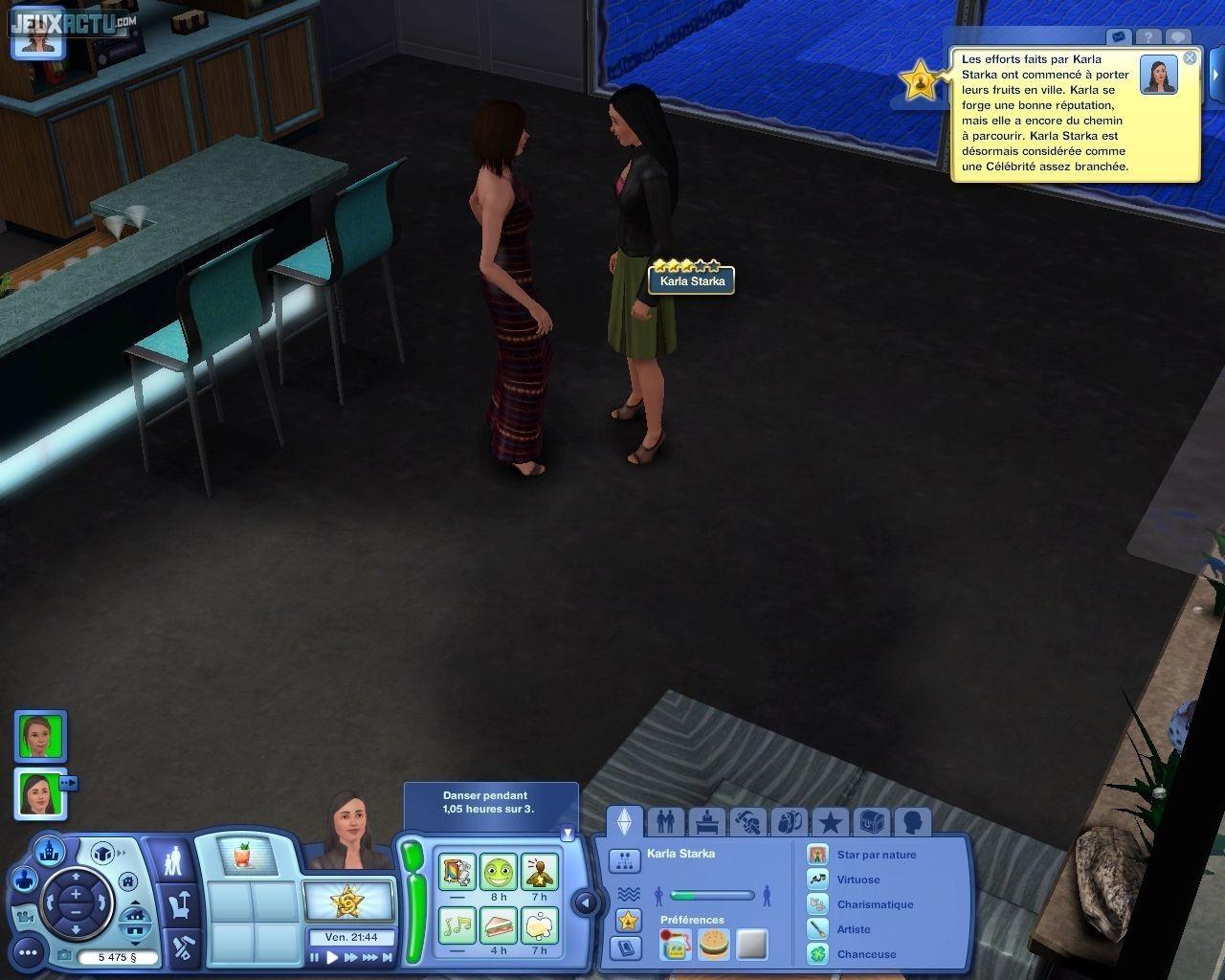 rencontrer un vampire dans les sims 3