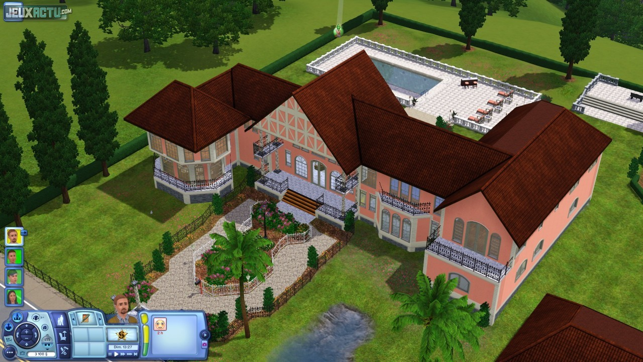 Les sims 3 g n rations for Maison moderne de luxe sims 3