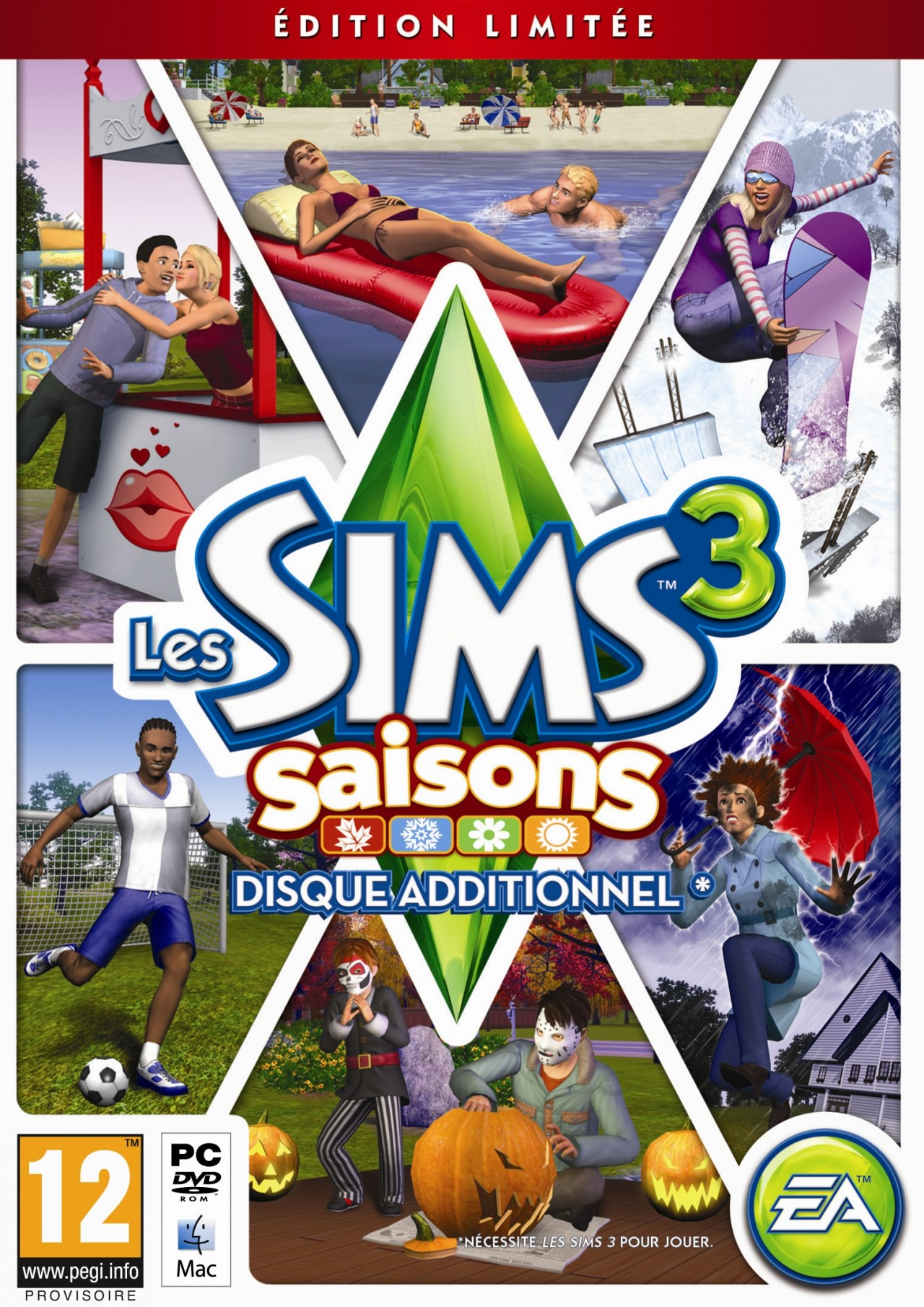 Les Sims 3 Showtime Edition Collector Katy Perry: Les Sims 3 Saisons : Trailer
