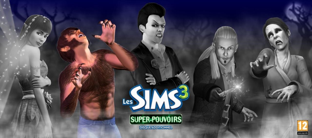 Artworks les sims 3 super pouvoirs for Simsoucis