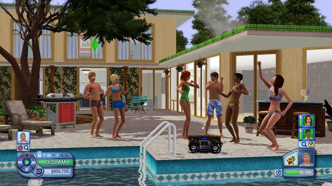 test les sims 3. Black Bedroom Furniture Sets. Home Design Ideas