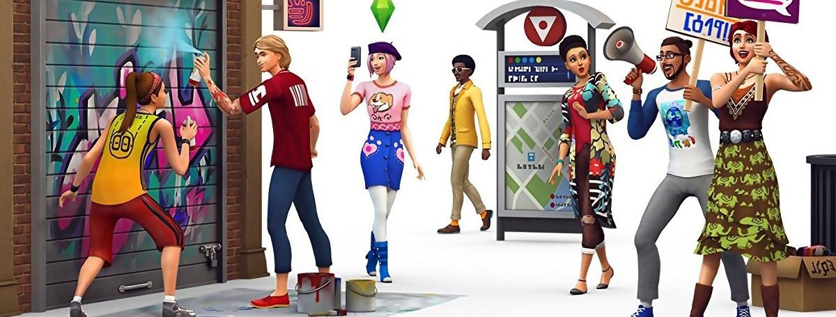 Test Les Sims 4Vie Citadinesur PC