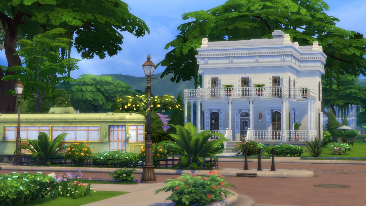 Les sims 4 gameplay sur la cr ation des maisons for Best windows for new home construction