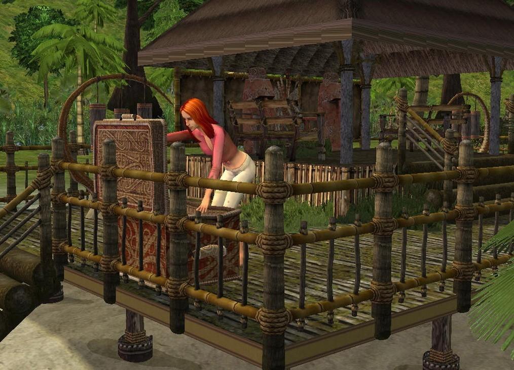 Игру Симс 2 Истории Робинзонов