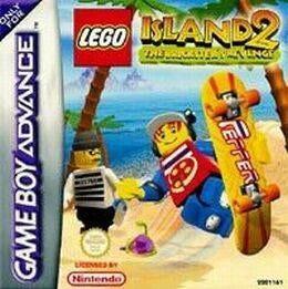 L'Ile Lego 2 : La Revanche de Casbrick GBA