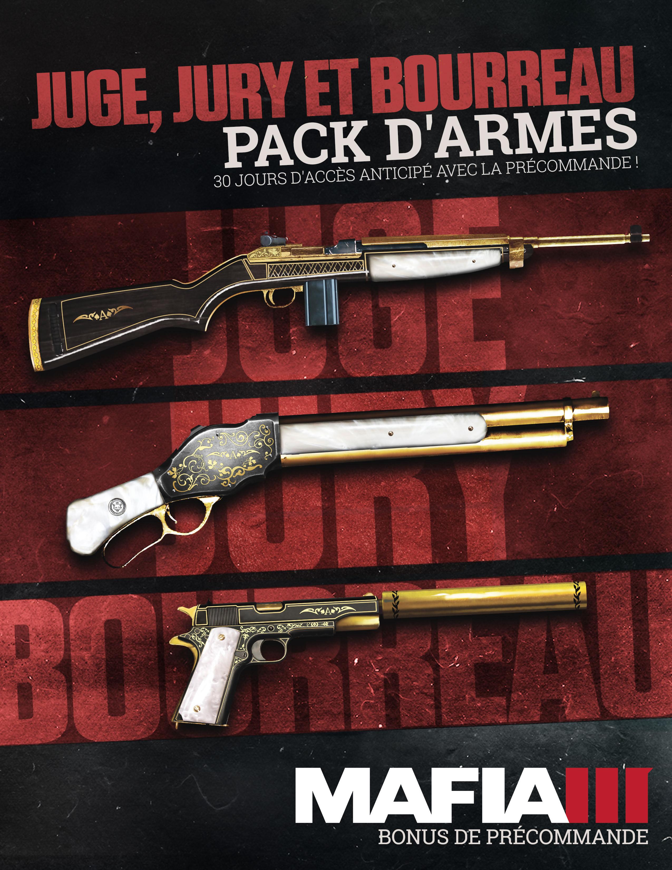 Mafia 3 Voici Les Armes Bonus Si Vous Pr 233 Commandez Le Jeu