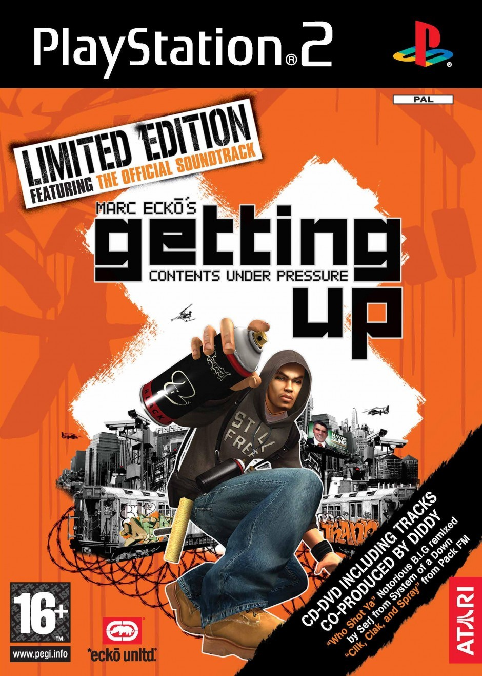 Marc ecko s getting up contents under pressure sequel