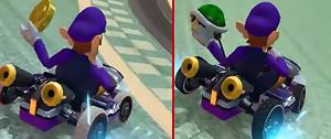 Mario Kart 8 : un comparatif graphique Wii U vs Switch
