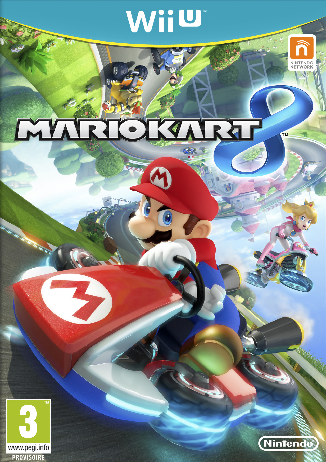 test mario kart 8 sur wii u. Black Bedroom Furniture Sets. Home Design Ideas
