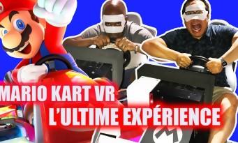 Mario Kart VR : on l'a testé à Tokyo, un rêve devenu réalité !