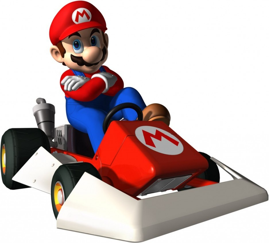 mario kart ds. Black Bedroom Furniture Sets. Home Design Ideas