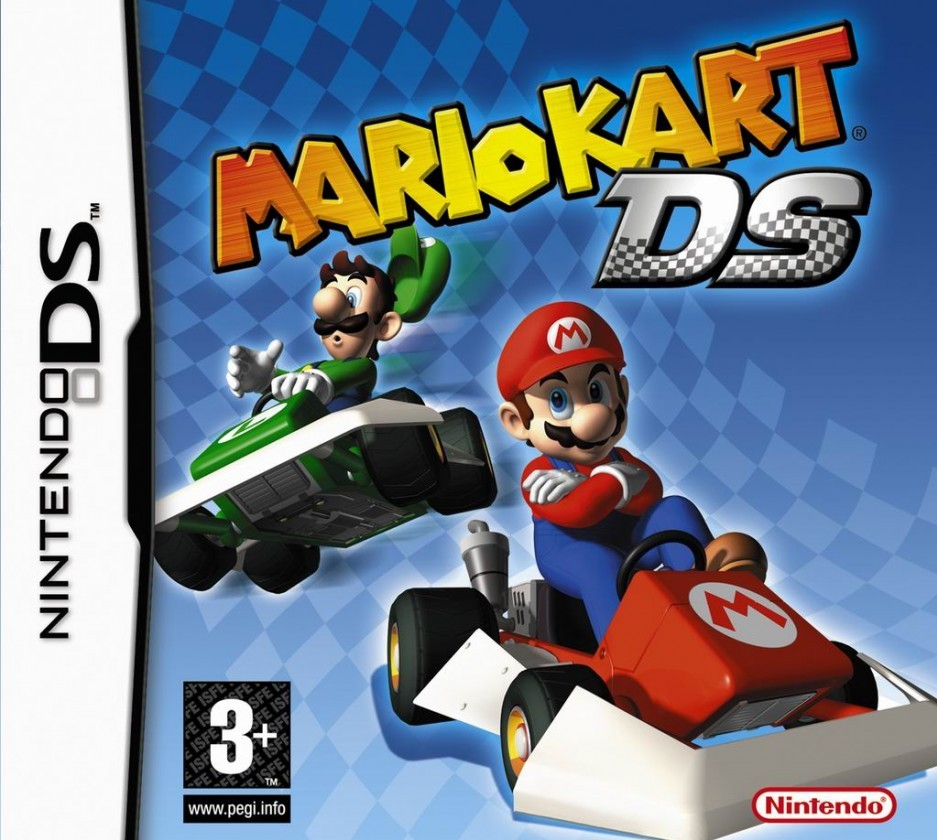 jaquettes mario kart ds. Black Bedroom Furniture Sets. Home Design Ideas