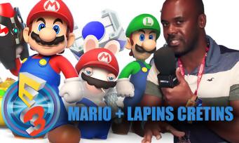 Mario + Lapins Crétins : on l'a testé et c'est plutôt amusant