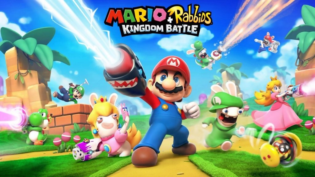 Mario X Lapins Crétins : l'artwork complet leaké