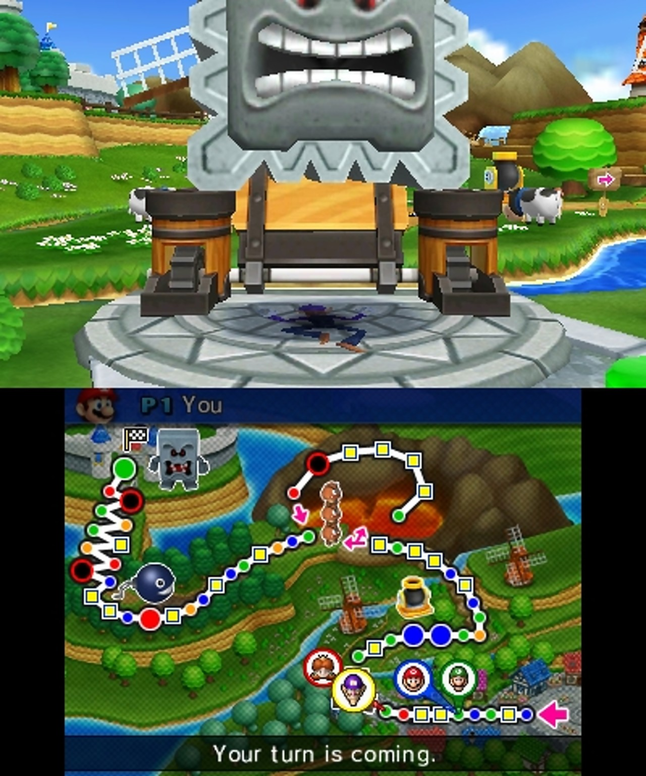 Mario Party Island Tour Ds Xl Gameplay