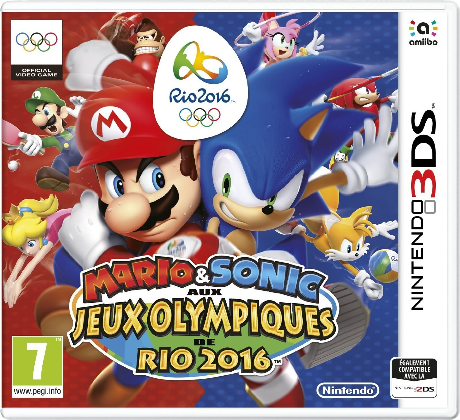 mario sonic aux j o de rio 2016 d couvrez le premier trailer sur wii u. Black Bedroom Furniture Sets. Home Design Ideas