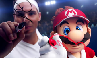Mario Tennis Aces : une superbe trailer avec Nadal