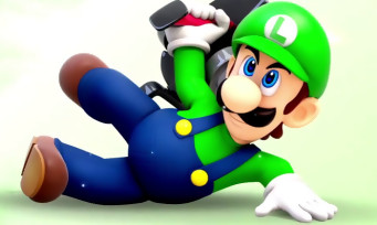 Mario + The Lapins Crétins : le trailer de gameplay de Luigi