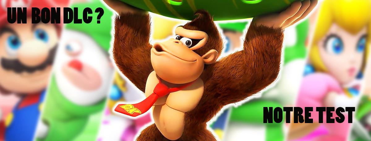 Test Mario + The Lapins Crétins Donkey Kong Adventure : le DLC au top