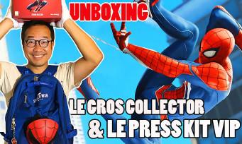 Marvel's Spider-Man : notre unboxing du collector et du press-kit VIP