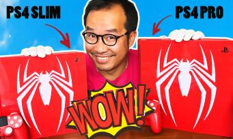 Marvel's Spider-Man :notre unboxing des 2 PS4 collectors, Slim et Pro