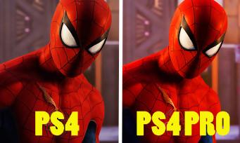Spider-Man : une vidéo pour comparer les versions PS4 et PS4 Pro ?