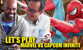 Marvel vs Capcom Infinite : on joue avec Spider-Man, Haggar, Nemesis et les autres persos de la Comic-Con