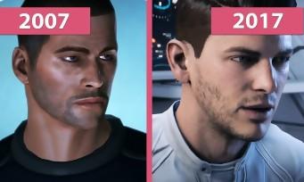 Mass Effect Andromeda Vs Mass Effect 1 : qui est le plus beau ?