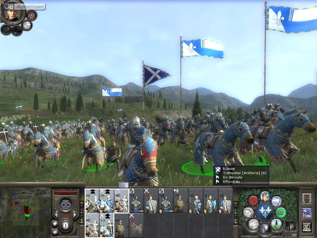 test medieval ii total war sur pc. Black Bedroom Furniture Sets. Home Design Ideas