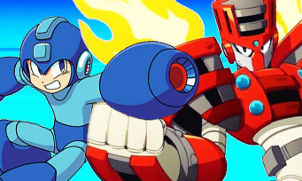Mega Man 11 : du gameplay explosif contre le boss Torch Man !