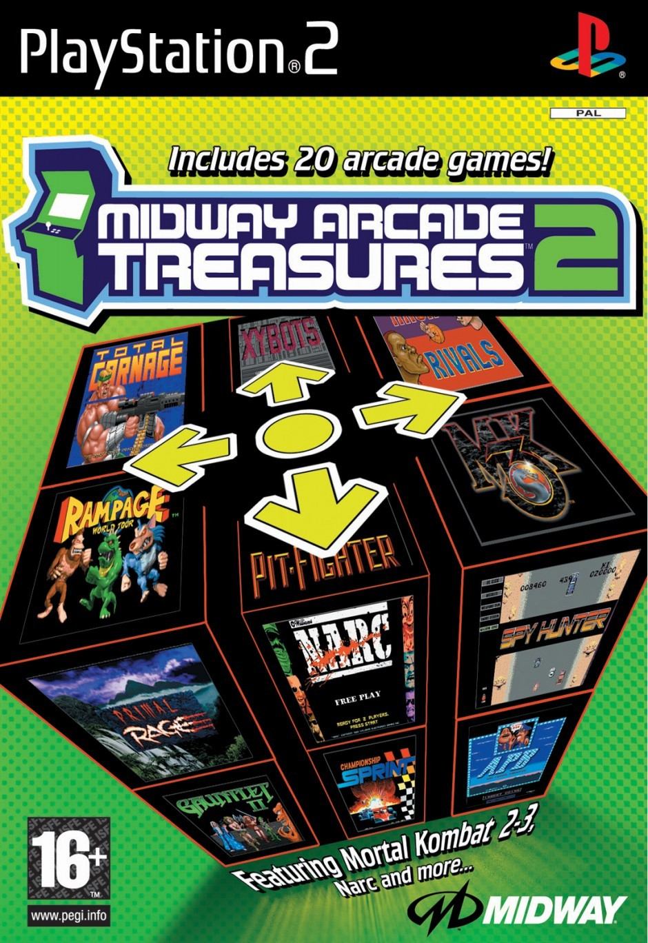 toutes les news du jeu midway arcade treasures 2. Black Bedroom Furniture Sets. Home Design Ideas