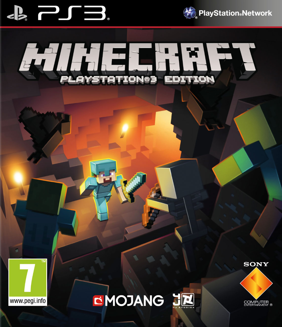 Minecraft la version ps3 a droit une sortie bo te - Jeux video de minecraft ...