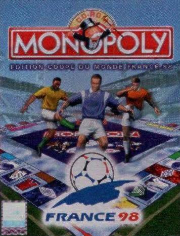 Jaquettes monopoly edition coupe du monde france 98 - France 98 coupe du monde ...