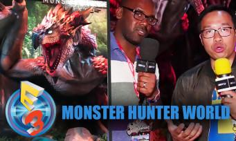 Monster Hunter World : on est parti à la chasse et c'était plutôt classe