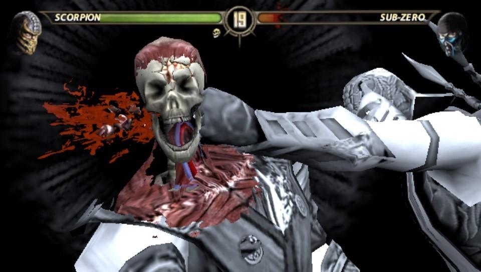 Test Mortal Kombat PS Vita