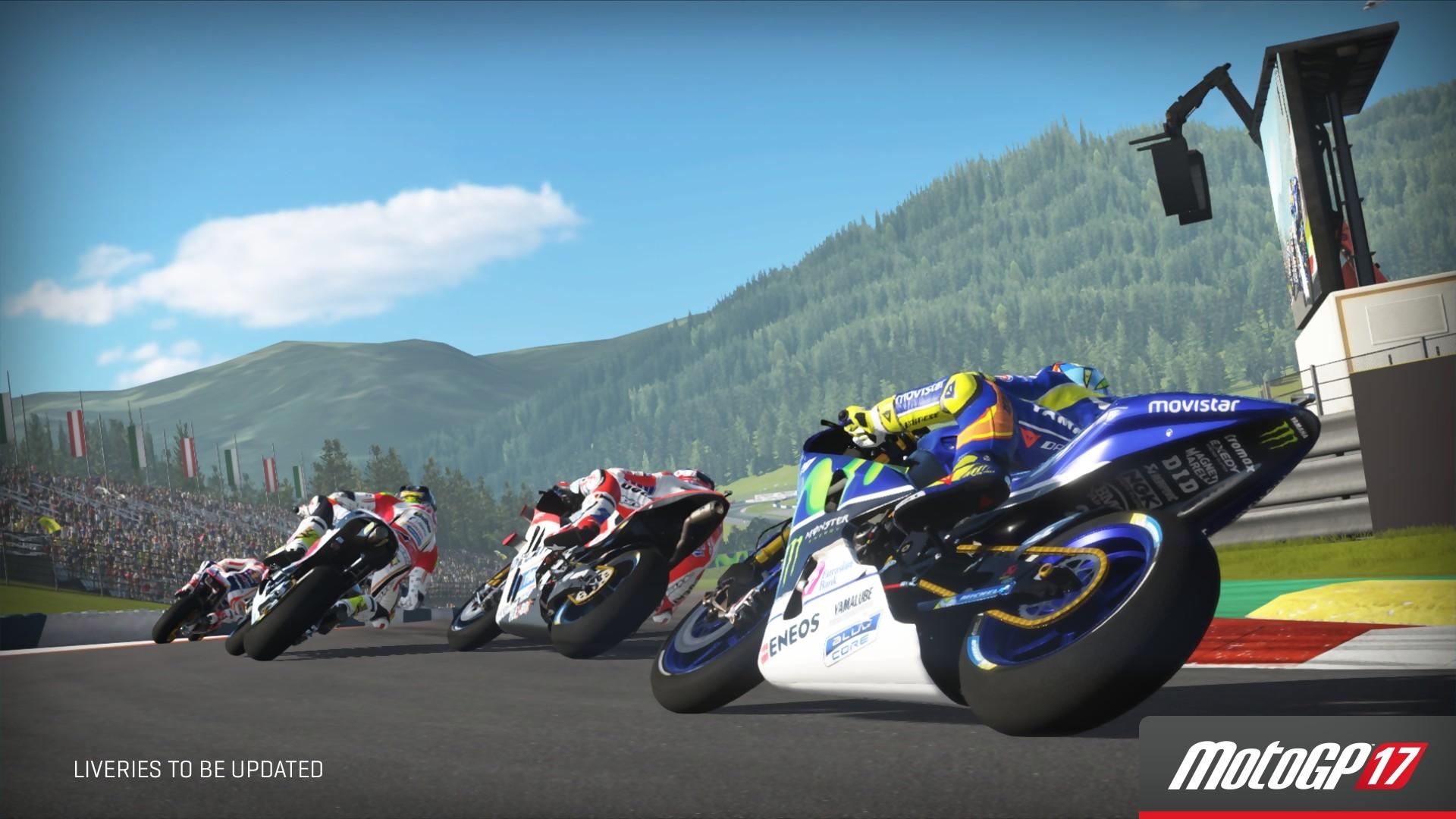 MotoGP 17 : trailer avec Valentino Rossi et Marc Marquez