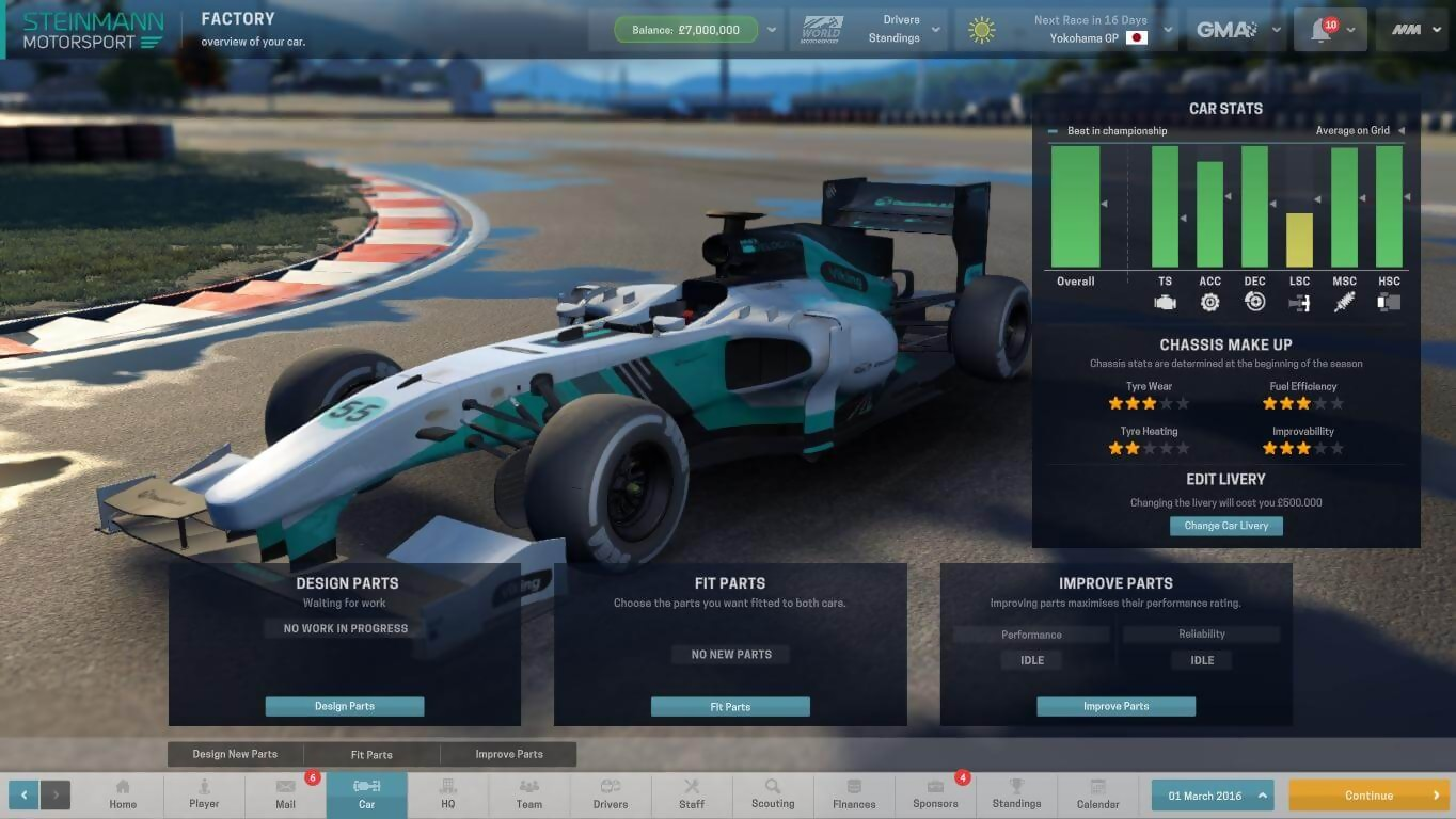 Motorsport Manager : un trailer de lancement en live-action