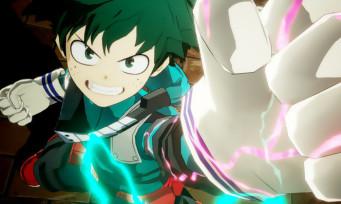 My Hero One's Justice : un trailer de gameplay qui cogne fort