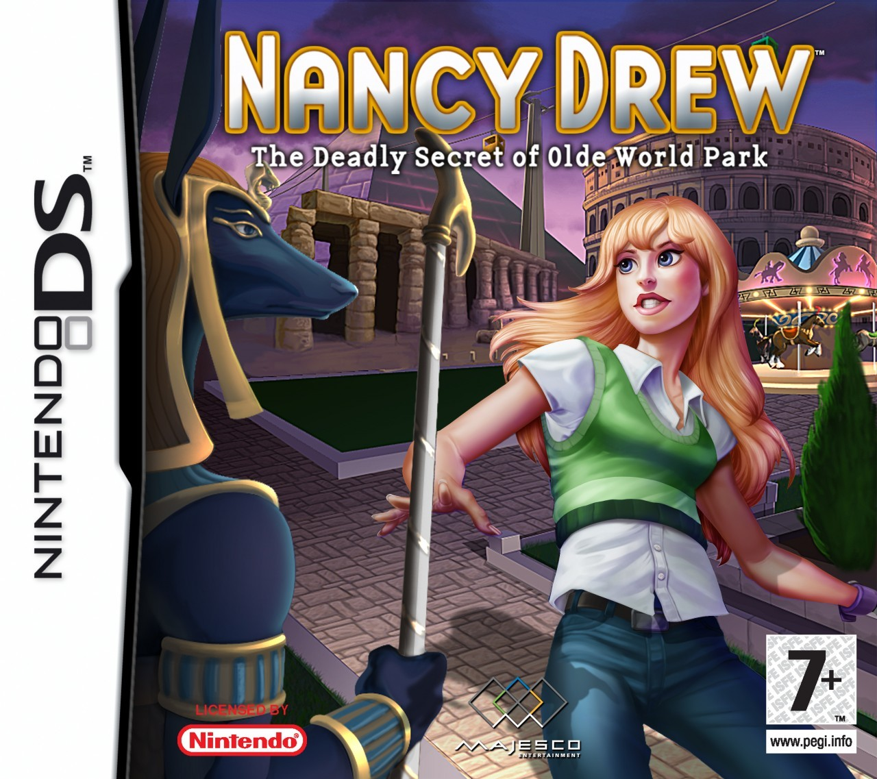 NANCY DREW #5 THE SECRET AT SHADOW RANCH w/DJ WHITE SPINE