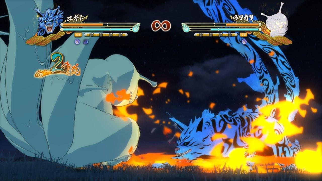 Les personnages de naruto shippuden ultimate ninja storm 3