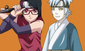 Naruto to Boruto Shinobi Striker : les images de Sarada Uchiha et Mitsuki